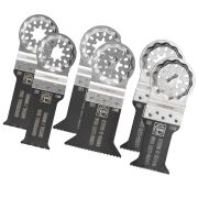 Fein 3 52 22 952 30 0 Fein Starlock 6 Piece Best of E-Cut Blade Set