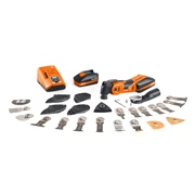Fein AMM 700 Fein AMM 700 Max Top Cordless Multimaster, 2x 3.0Ah Batteries, Charger, Case & 60 Accessories