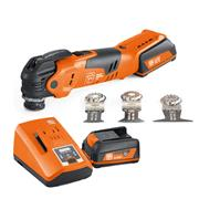 Fein  Cordless MULTIMASTER 12V AMM300 Plus Start - 2 x 3Ah batteries, Charger, Case and Accessories