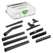 Festool 203430 Compact Cleaning Set D 27/D 36 K-RS-Plus For Dust Extractor - in Systainer