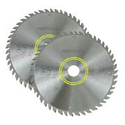 210mm 52 Tooth Circular Saw Blade - Pack of 2