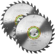 160mm 28 Tooth Circular Saw Blade - Pack of 2