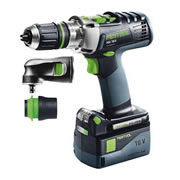 Festool PDC 18/4 Li 5,2-Plus Air Stream 18v Li-ion Combi Drill