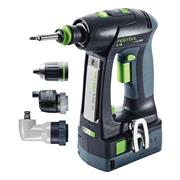 Festool 575673 18v Drill Driver with 2 x 5.2Ah Batteries, Charger and Case