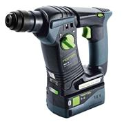 Festool 575698 BHC 18 Festool 575698 BHC 18 18V SDS+ Drill with 2 x 5.2Ah Batteries, Charger and Case