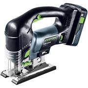 Festool PSBC 420 HPC 4,0 EBI-Plus Festool 18v Jigsaw with 1 x 5.2Ah Battery Charger and Case
