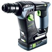 Festool 577206 Festool BHC 18 SDS+ Hammer Drill with 2 x 4.0Ah Batteries, Charger, Case & Dust Nozzle