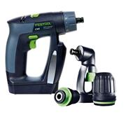 Festool 564533 CXS 10.8V CXS Drill Driver with 2 x 2.6Ah Batteries, Charger and Case