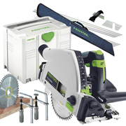 Festool TS55REBQPLUSMK 55mm Circular Plunge Saw Package