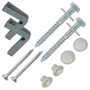 Fischer 42831 WB5N WC Pan To Floor Side Fixing Set