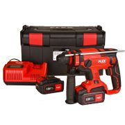 Flex CHE 18.0-EC KIT Flex CHE 18.0-EC KIT 18V Brushless SDS+ Drill with 2 x 5Ah Batteries, Charger and Case