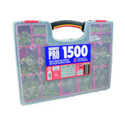 Forgefix MPS1500Y Mixed Screw Assortment Case - 1500 Piece