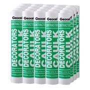 Geocel DECOCAULKWH Contractors Decorators Caulk White 380ml Box 20