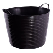 Gorilla SP26GBK Gorilla Black Tub 26L (390mm Diameter 300mm Deep)