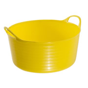 Gorilla SP5Y Gorilla Yellow Shallow Tub 5L (280mm Diameter 105mm Deep)