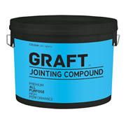 Graft 022WHT Graft Jointing Compound 4 Litre Offwhite