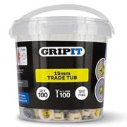 Gripit  Gripit 15mm Yellow Plasterboard Fixing - Pack of 100