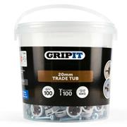 Gripit  Gripit 20mm Brown Plasterboard Fixing - Pack of 100
