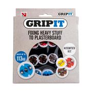 Gripit  Gripit Assorted Cavity Wall and Plasterboard Fixings - 32 Pieces