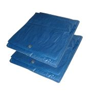 Professional POLYTARPPK2 Tarpaulin Sheet (12ft x 18ft) - Pack of 2