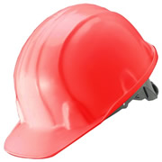 Guardsman A04R Safety Helmet (Red)