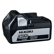 Hikoki BSL1850 Li-ion 18v 5.0ah Slide-on Battery
