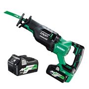 Hikoki CR36DA/JAZ Hikoki CR36DA/JAZ 36v MultiVolt Reciprocating Saw with 2 x 2.5Ah Batteries, Charger and Case