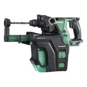 HiKOKI DH36DPB/J3Z 36v MultiVolt SDS+ Rotary Hammer Drill 28mm with Dust Colllection -Body