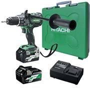 Hikoki DV36DAX/JRZ 36v MultiVolt Combi Drill with 2 x 2.5Ah Batteries, Charger and Case