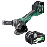 Hikoki G3612DA/JRZ 36v MultiVolt Brushless Grinder 115mm - Kit