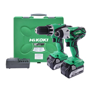 Hikoki KC18DGL/JE 18v Li-ion 5.0Ah Cordless 2 Piece Kit