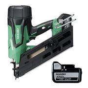 Hikoki NR1890DBCL/JPZ Hikoki NR1890DBCL/JPZ 18V Clipped Head Nail Gun with 2 x 5Ah Batteries, Charger and Case