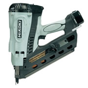 Hikoki NR90GC2/J8 Hikoki NR90GC2/J8 7.2v Gas First Fix Framing Nail Gun with 2 x 1.4Ah Batteries, Charger and Case