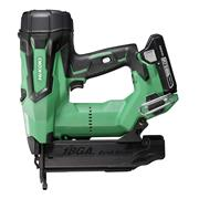 Hikoki NT1850DBSL/JX 18v Brushless Second Fix Finishing Brad Nail Gun with 2 x 3Ah Batteries, Charger and Case