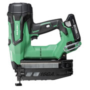 HiKOKI NT1865DBSL/JX 18v 15 Gauge Brushless Straight Finish Nailer