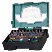Hitachi 40030019 32 Piece Stackable Accessory Bit Set