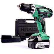 Hitachi DV18DGL1 Hitachi 18v Li-ion Hammer Drill Driver (1 x 5.0Ah Battery)