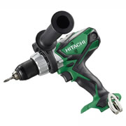 Hitachi DV18DSDL/L4 Hitachi 18V Cordless Lithium-ion Hammer Drill/Driver (Body Only)