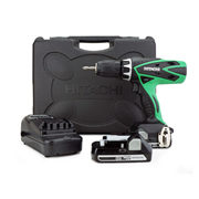 Hitachi DV18DSFL/L4 Hitachi 18v Li-ion Hammer Drill/Driver (Slide on Body Only)
