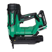 Hitachi NT1850DBSL/JX Hitachi Cordless 18v 18 Gauge Brushless Straight Brad Nailer