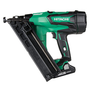 Hitachi NT1865DBAL/JX Hitachi Cordless 18v 15 Gauge Brushless Angled Finish Nailer