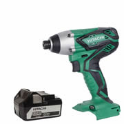 Hitachi WH18DGL1 Hitachi 18v Li-ion Impact Driver (1 x 5.0Ah Battery)