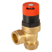 MK by Honeywell DU145-3/4B MK by Honeywell Angled Automatic Bypass Valve