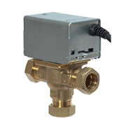 MK by Honeywell V4073A1088/U MK by Honeywell 3-Port Motorised Mid Position Valve 28mm
