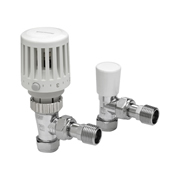 MK by Honeywell VTL120-15A Honeywell Valencia Traditional Thermostatic Radiator Valve