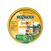 Hozelock  Starter Hose Starter Set 15m 12.5mm (1/2in) Diameter
