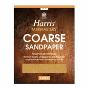 Harris 329 Harris Coarse Sandpaper (4 Pack)