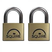 Squire  Squire LN5T Lion Brass Padlocks 50mm (2)