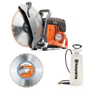 "Husqvarna 77012P Husqvarna K770 300mm/12"" Petrol Saw Set"