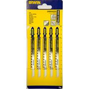 Irwin 10504229 115mm Wood Cutting HCS Jigsaw Blades T301CD - Pack of 5